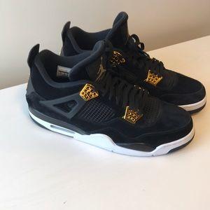 "Air Jordan Retro 4 ""Royalty"" Size 14"